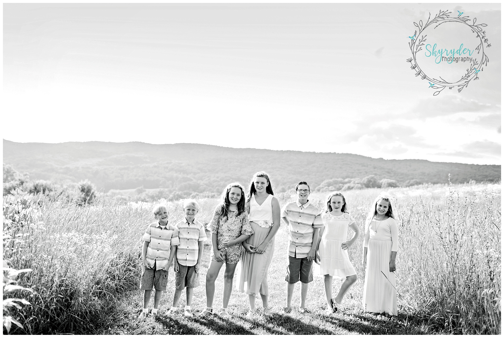 Hamblin Family | Blacksburg Family Photographer | Heritage Park