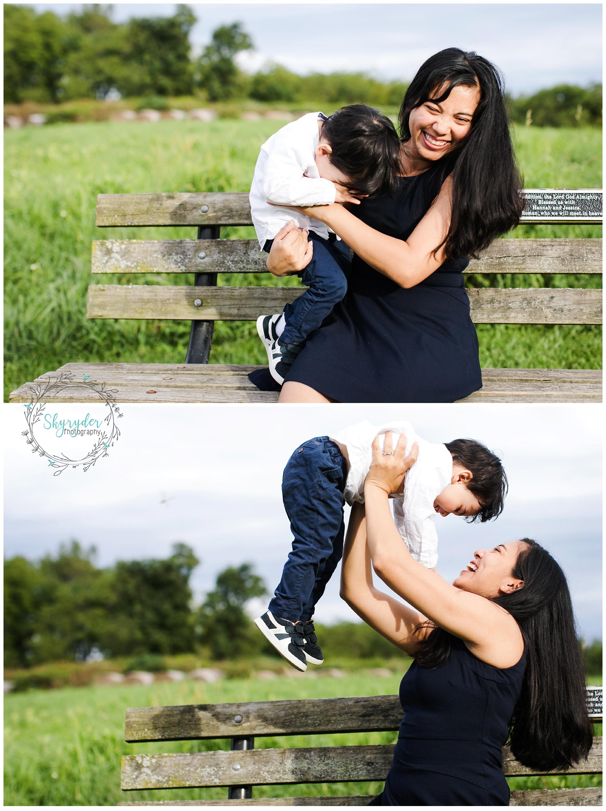The England Family | Blacksburg Family Photographer
