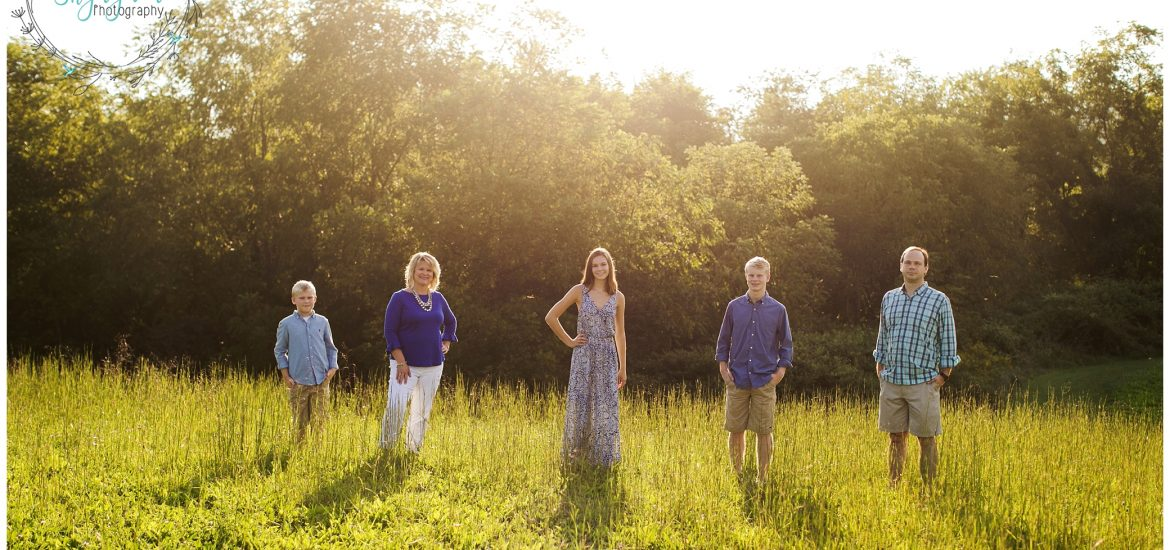 Mabry Family | Blacksburg Family Photographer | Heritage Park