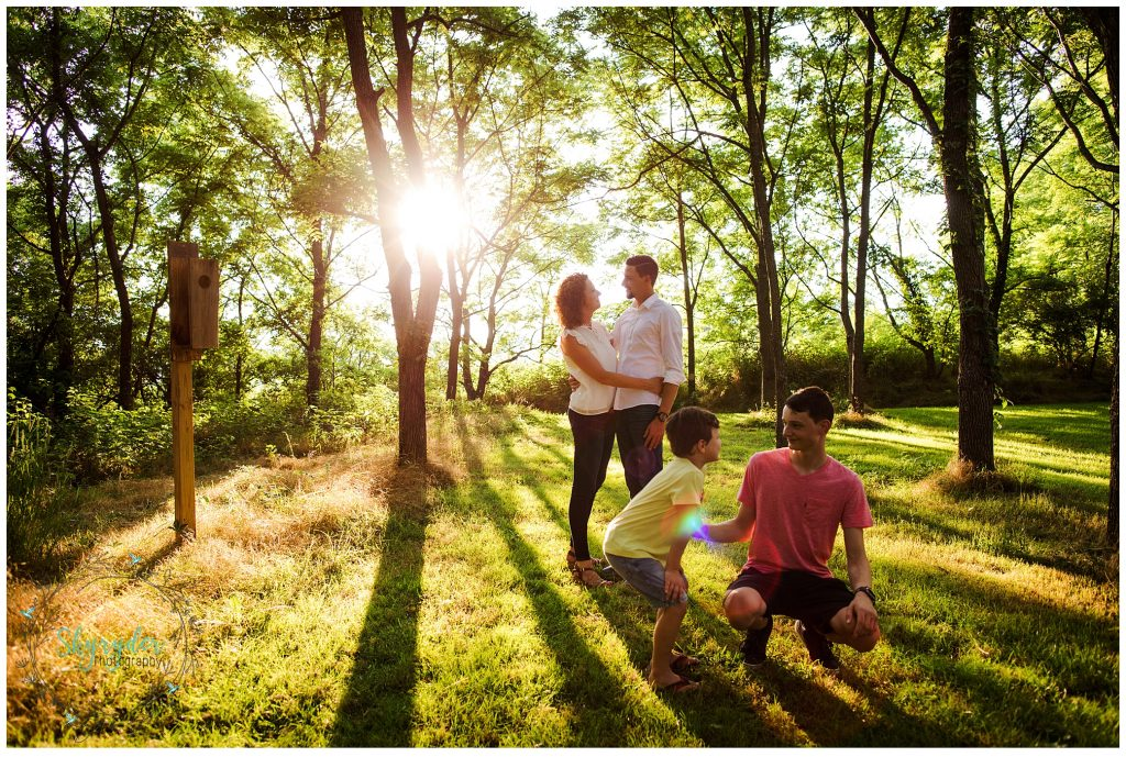Smoes Family | Blacksburg Family Photographer | Heritage Park