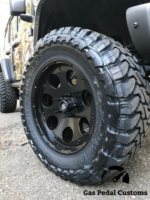 Wheel and Tire Combos for 4x4 - Fuel Enduro with Toyo M/T
