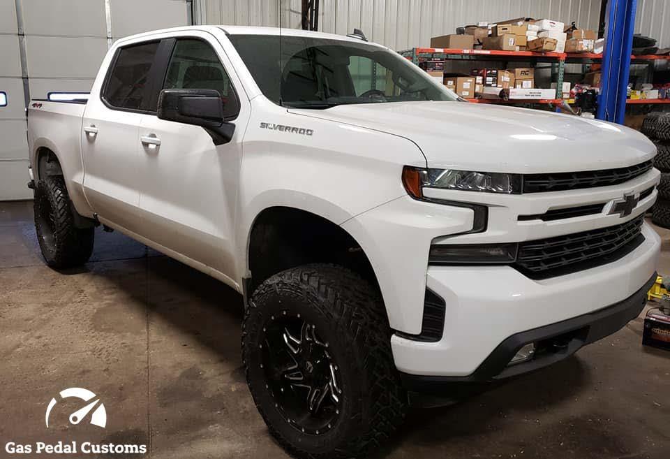 4x4 Performance Shop - 2019 Silverado 1500 white