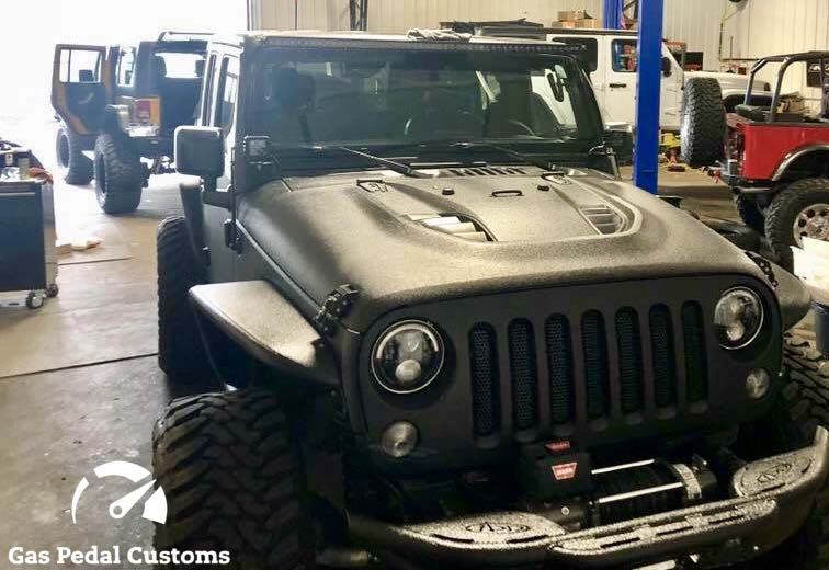Custom built Jeeps, Hemi Jeeps - Gas Pedal Customs