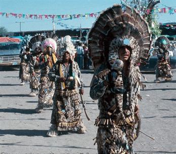 Traditional Matachine groups