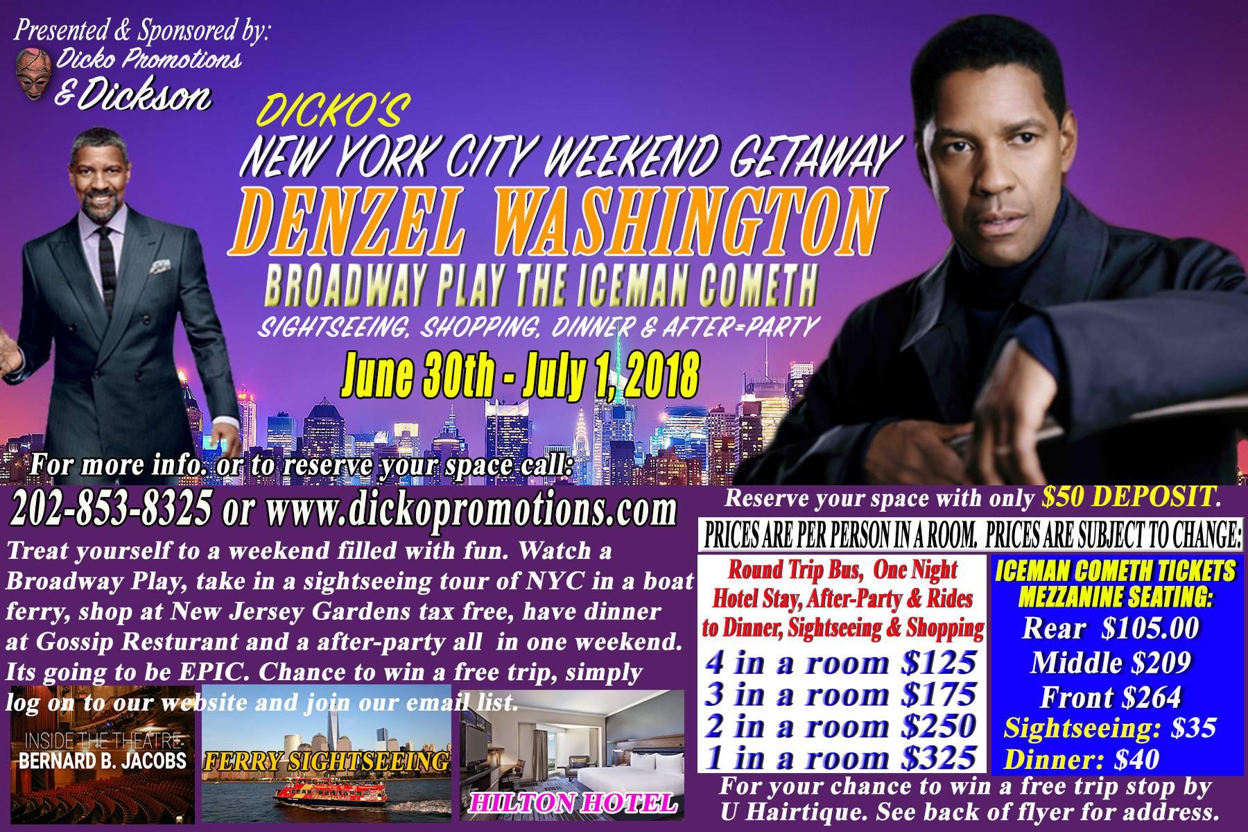 Dicko's NYC Getaway 2018