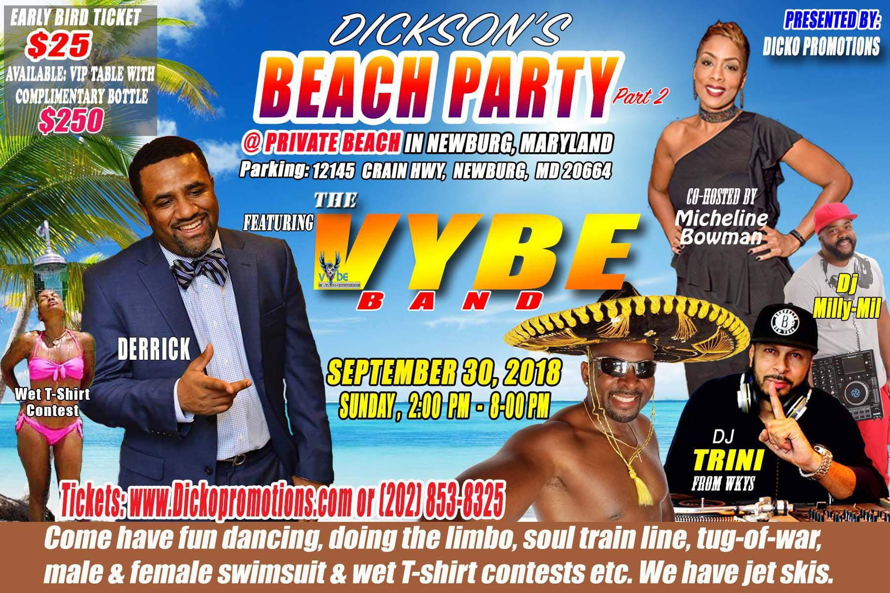 Dicko's Beach Party 2018