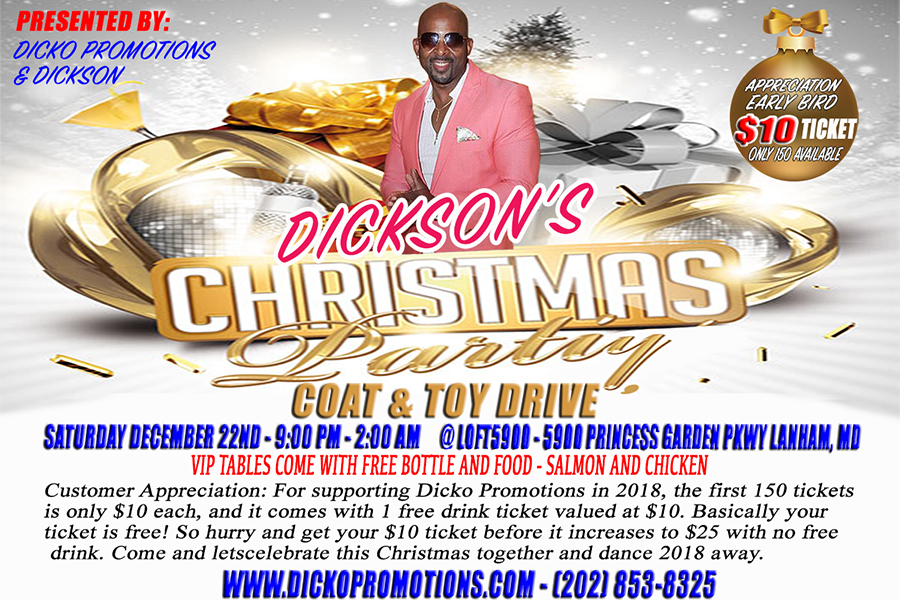 Dicko's Annual Christmas Party 2018
