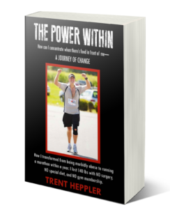 The Power Within - A Journey of Change book by Trent Heppler