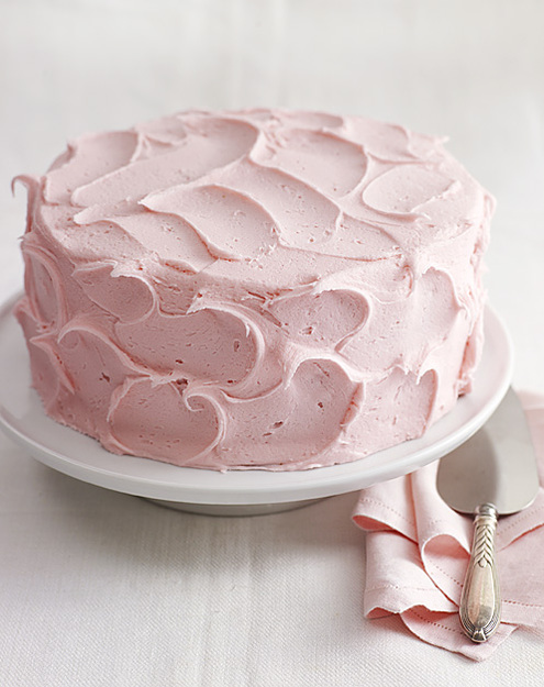 Sweet Pink Buttercream Frosting