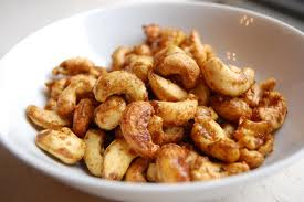 Candied Bacon Cashews