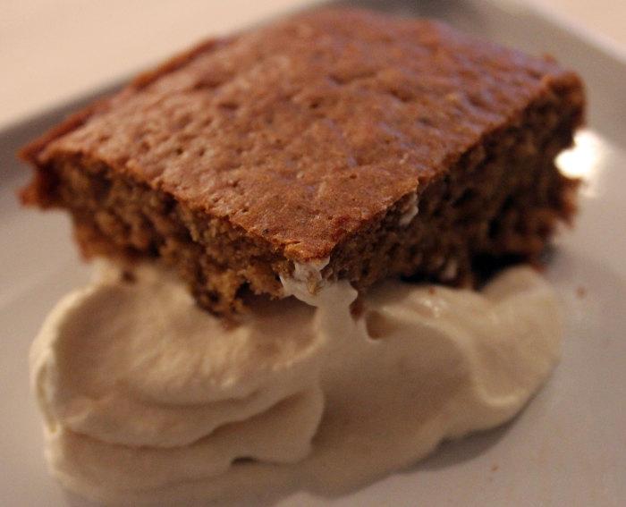 TBT Recipe: Buttermilk Maple Spice Cake