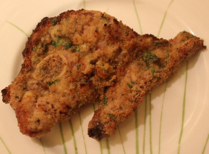 Parsillade Lamb Chops