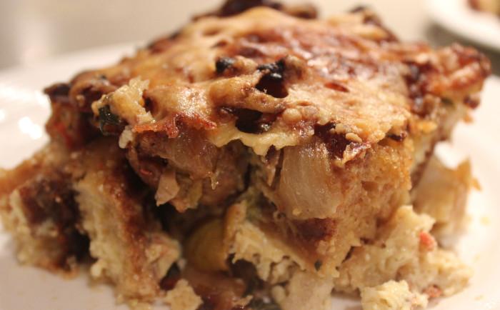 Savory Bread Pudding ala Suzen