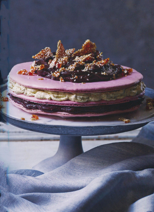 wc-Sesame,-Pistachiio,-and-Rose-Macaron-Cake