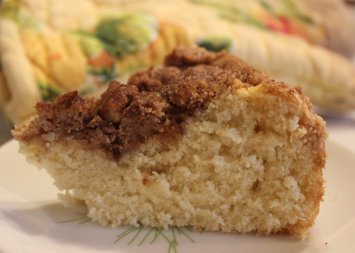 Butter Crumb Coffee Cake from Carole Walter