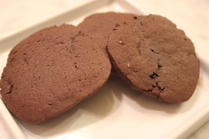 Cocoa Mint Crisps from The Complete Cookie