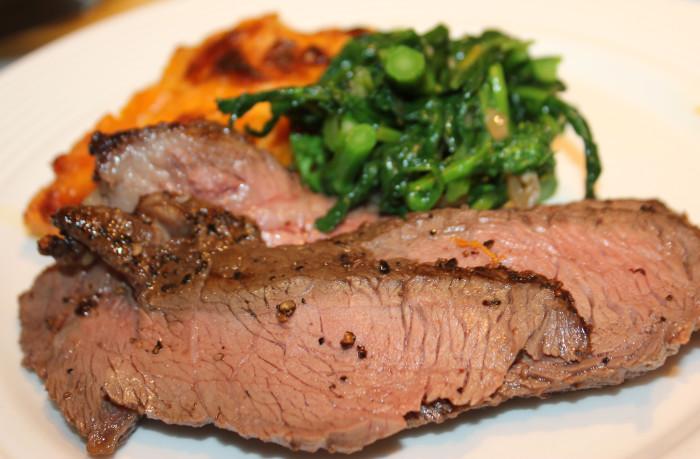 Kentucky Bourbon Sirloin Steak