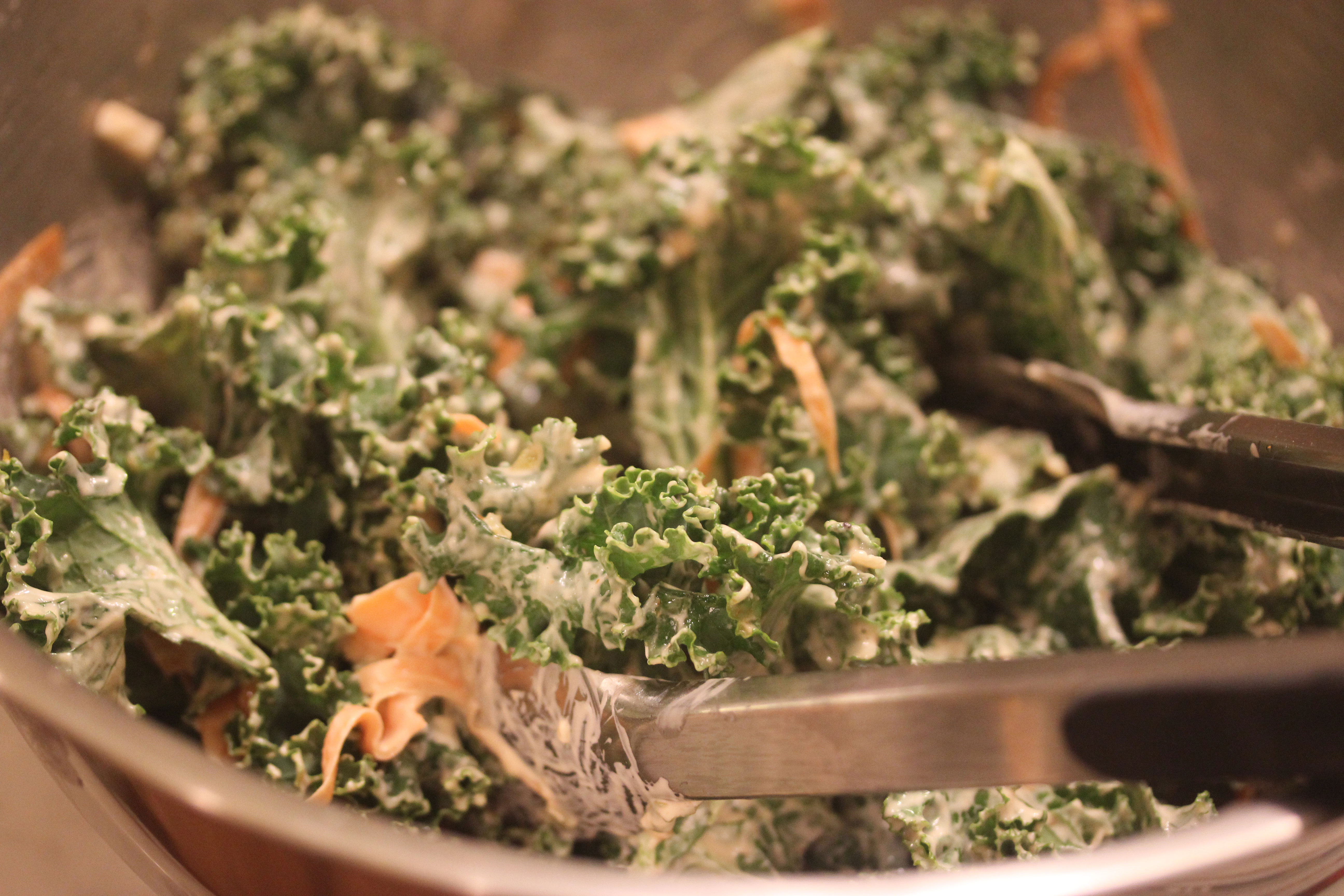 TBT Recipe: Kale Slaw with Russian Dressing