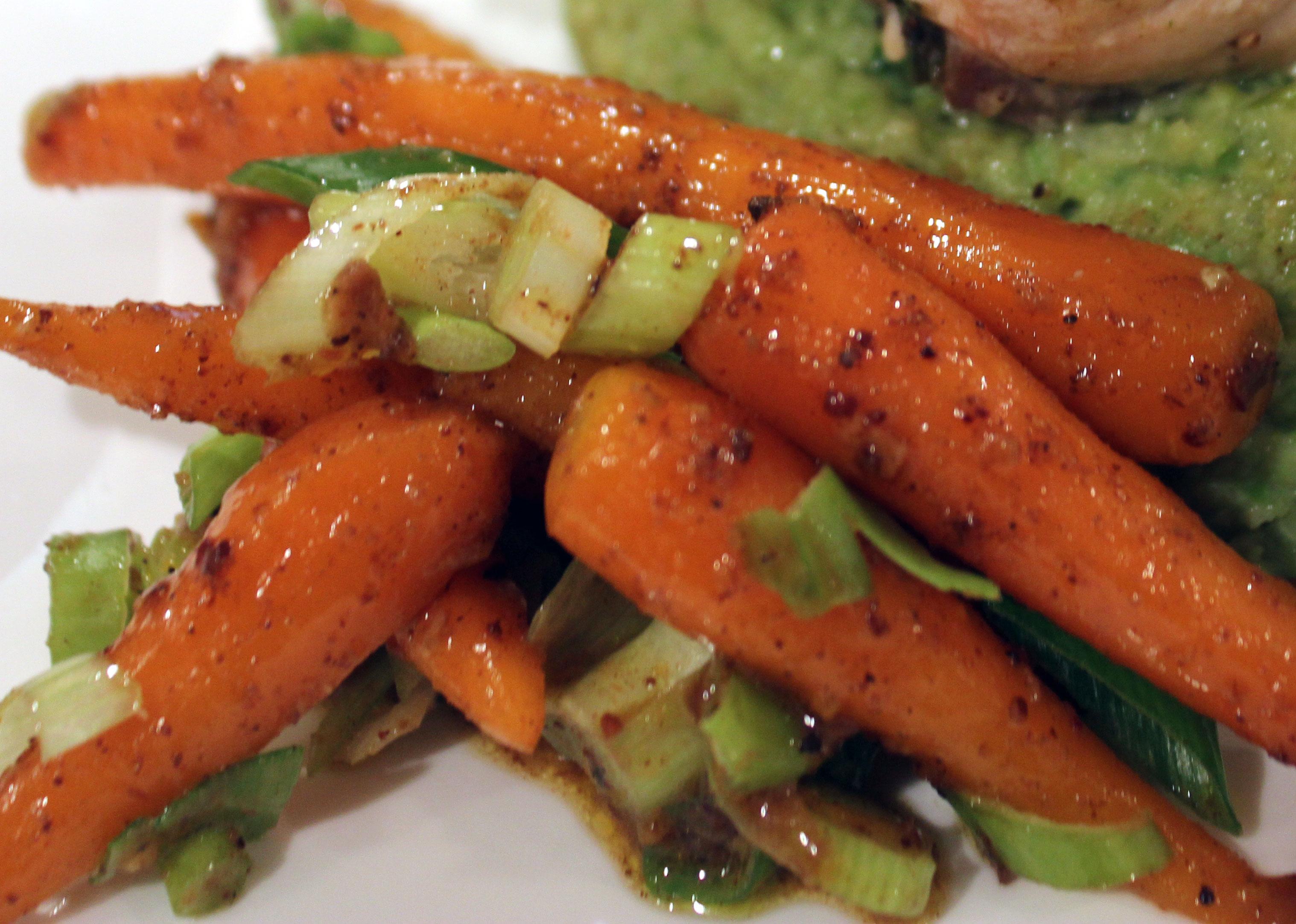 TBT Recipe: Roasted Orange Spiced Carrots