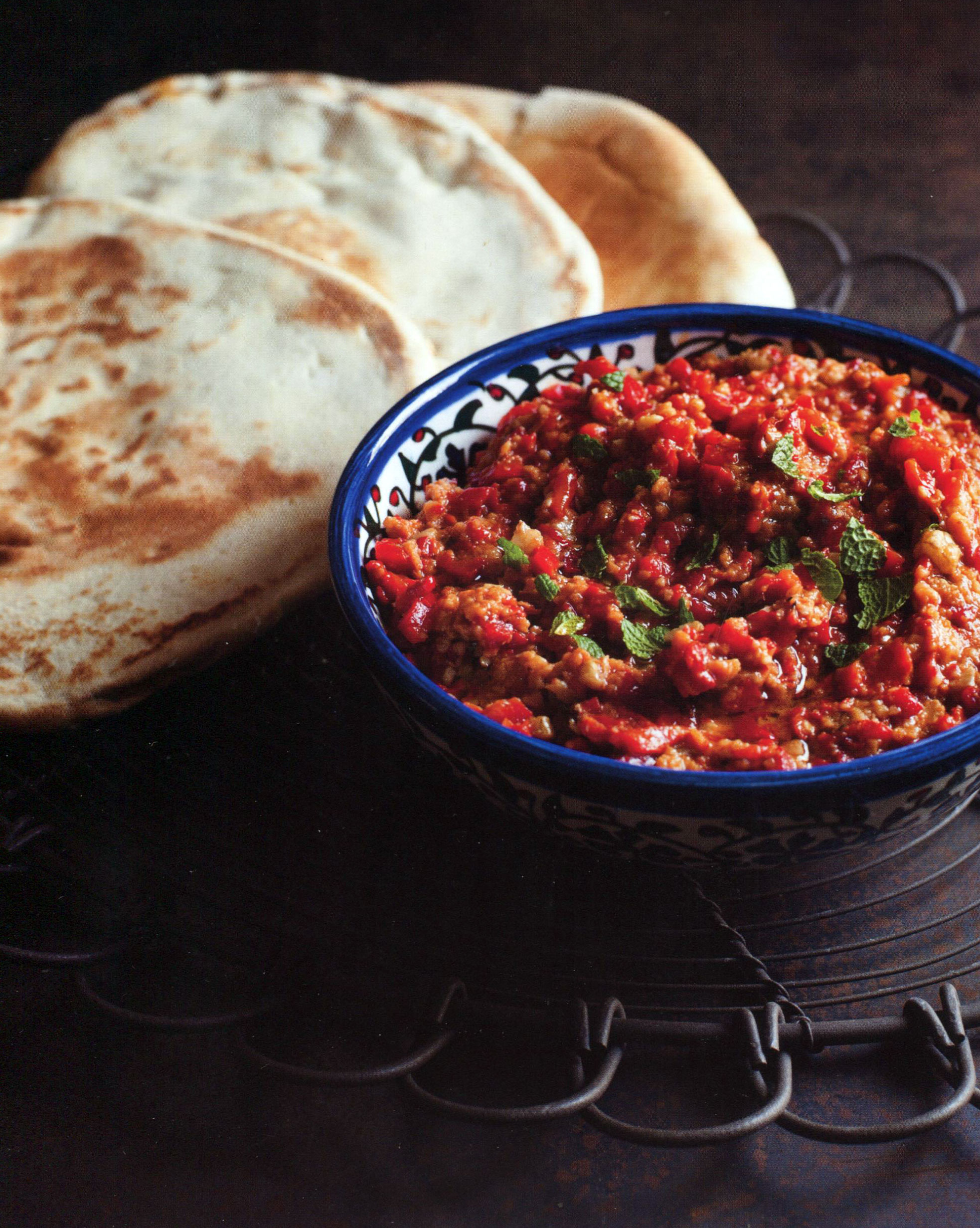 Chargrilled Sweet Pepper & Walnut Dip