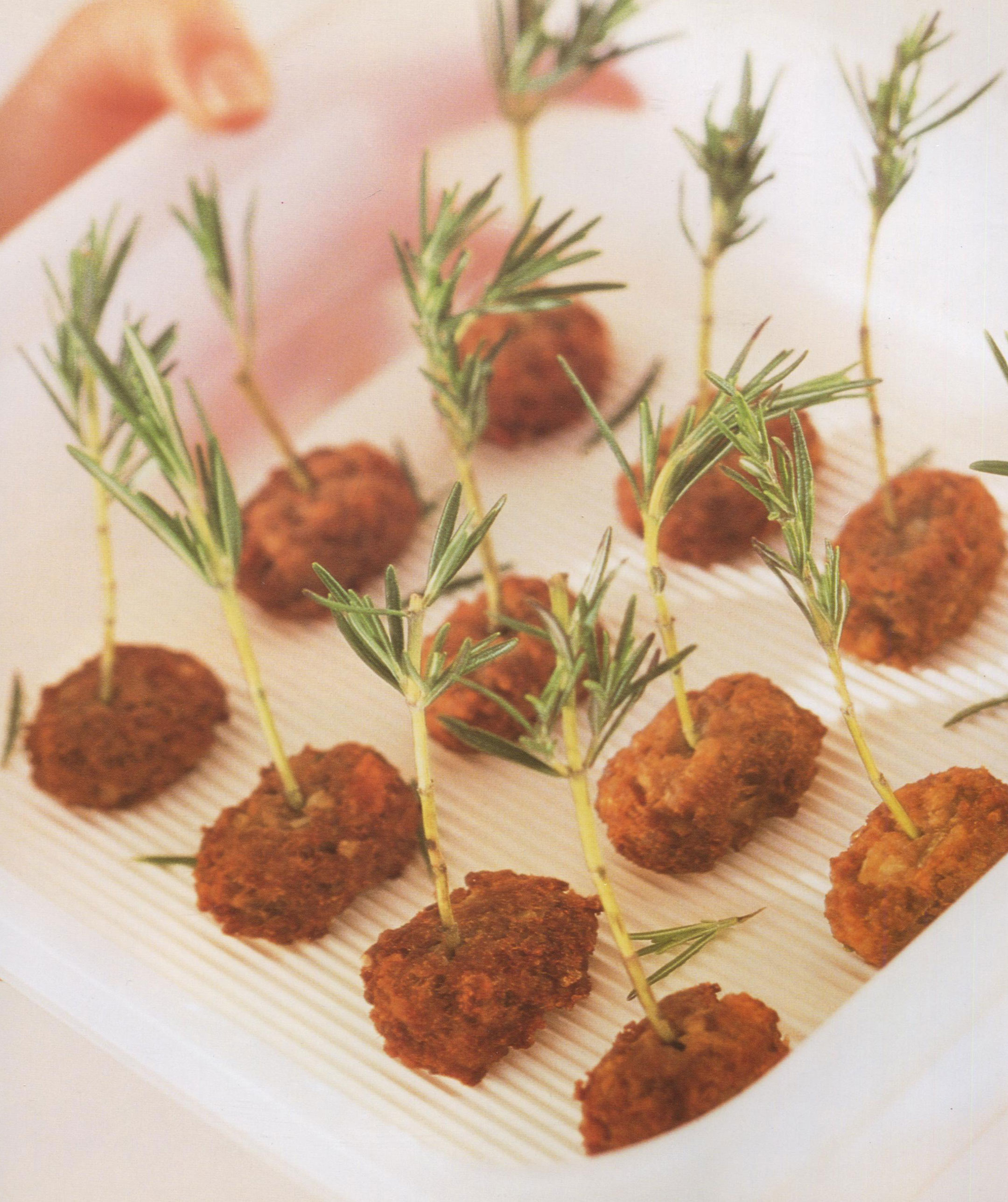 Frikadelle or Meatballs from Northern Europe for Super Bowl