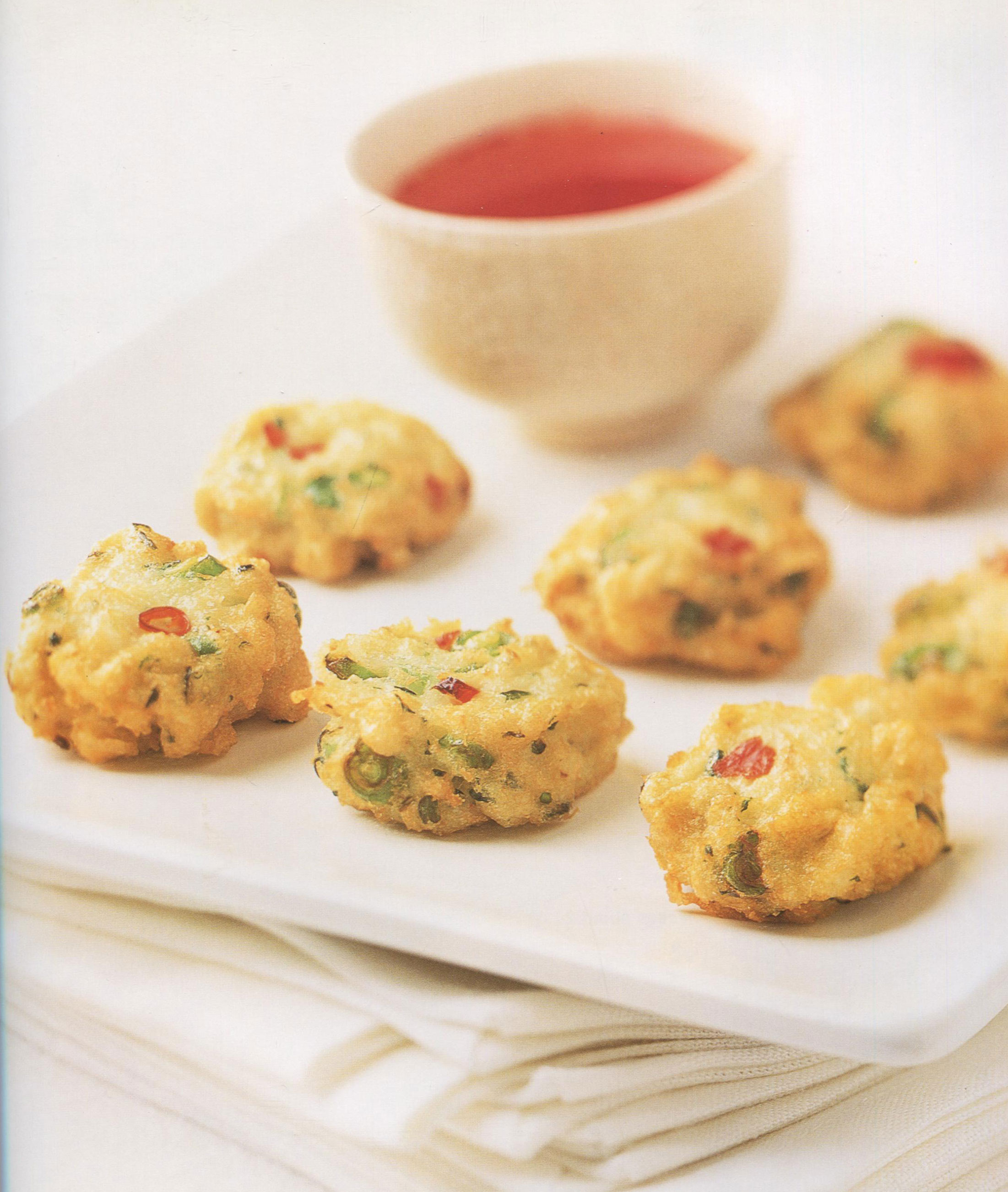 Thai Crabcakes with Chili Dipping Sauce from Fingerfood