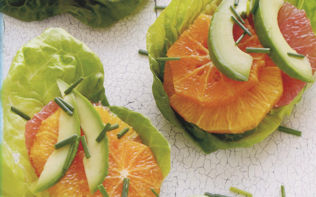 Winter Citrus and Avocado Salad from Absolutely Avocado by Gaby Dalkin
