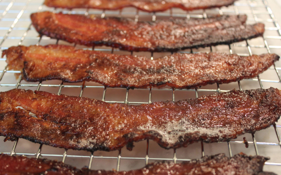 Lacquered Bacon from A Real American Breakfast