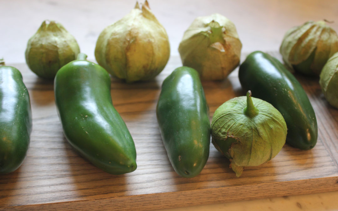 Tomatillo Salsa from Mesa Mexicano