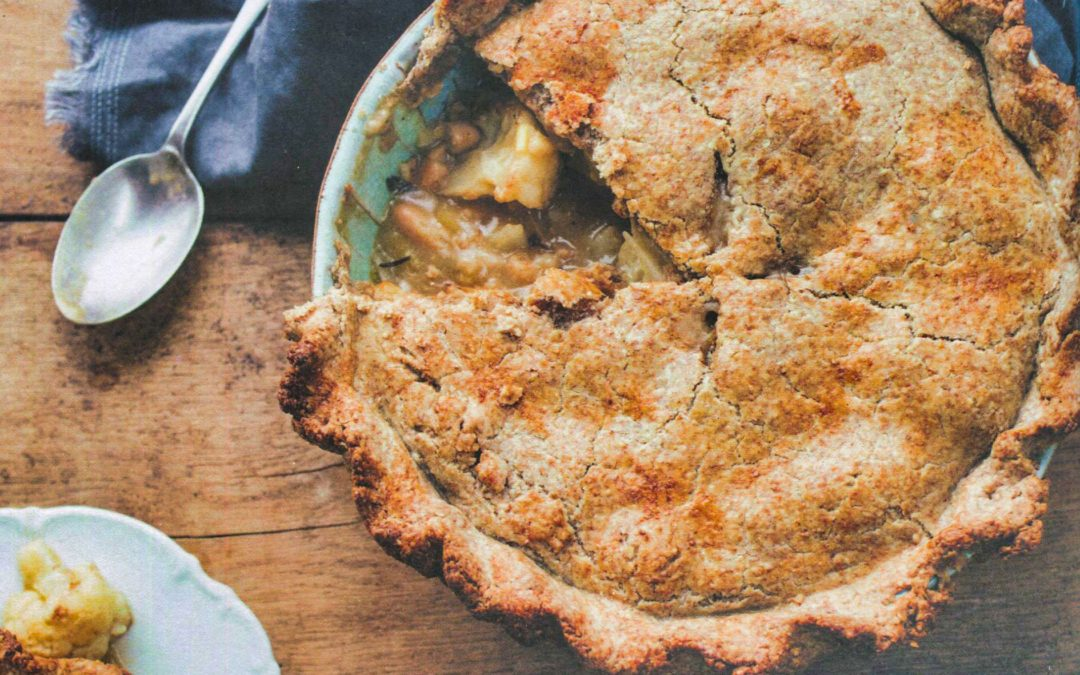 Cauliflower, Leek and Sage Pie from The Savvy Cook