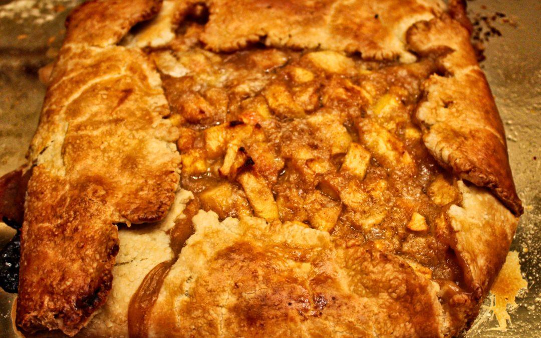 Rustic and Delicious Peach Crostata from Suzi
