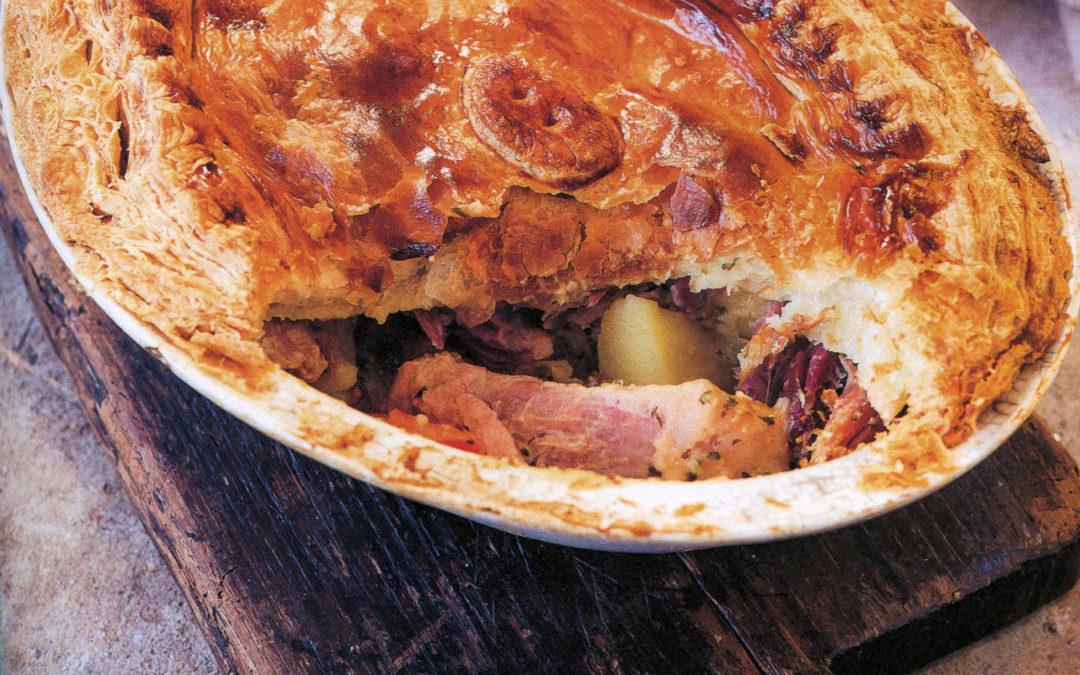 TBT Recipe: Ham, Onion and Potato Pie