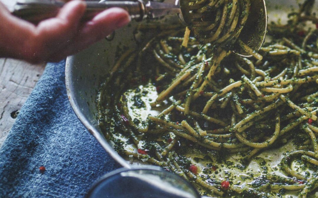 Kale, Chilli, Anchovy and Lemon Pesto from Gizzi's Season's Eatings
