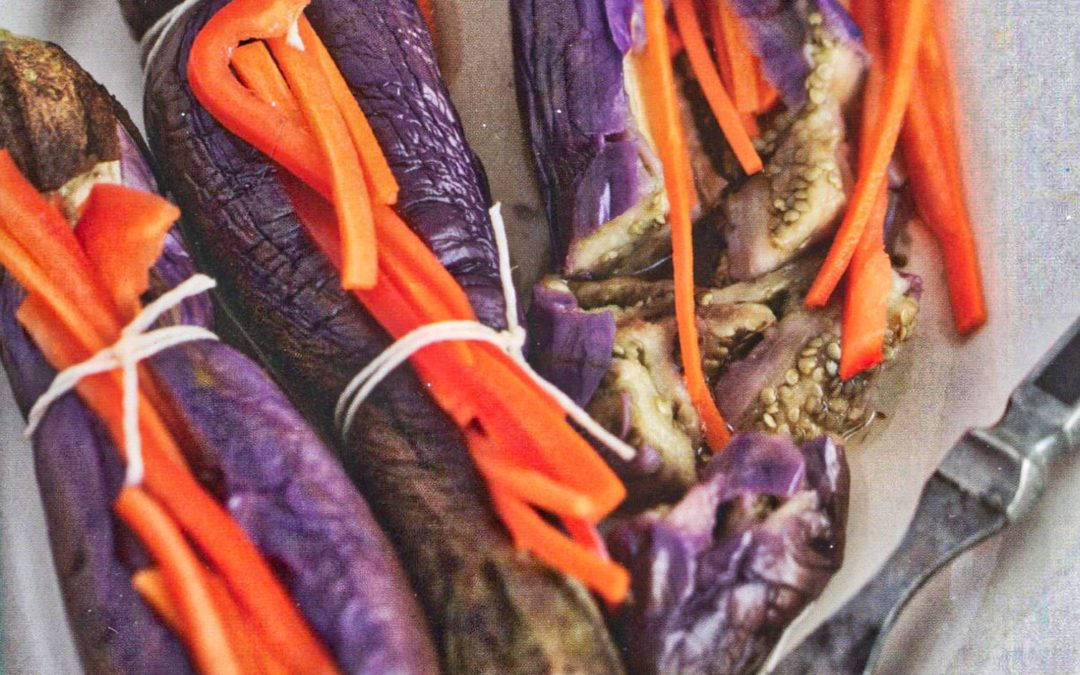 Pickled Stuffed Eggplants from Istanbul & Beyond