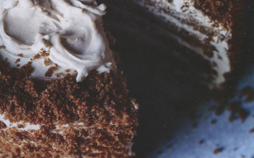 Gingerbread Latte Cake from John Whaite