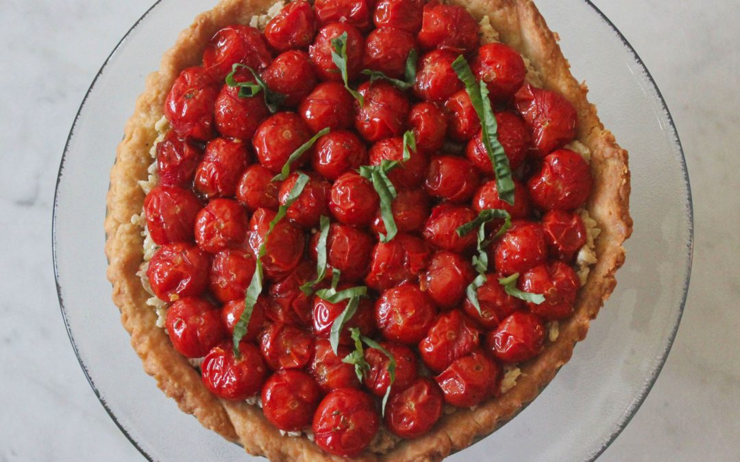 TBT Recipe: That Cherry Tomato Tart, Perfected