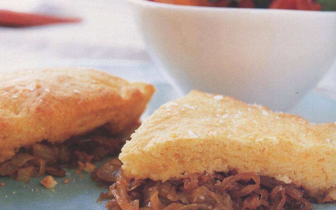 Onion Shortcake Potpie from Potpies by Elinor Klivans
