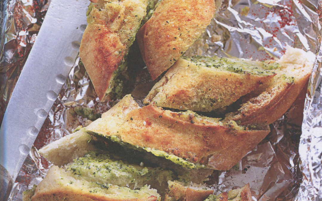 The Best Cheesy Garlic Bread from The Goodness of Garlic