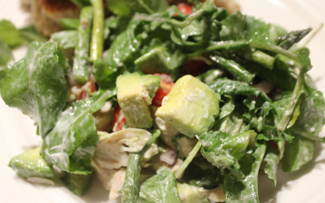 Honeyed Turkey and Avocado Salad from The Goodness of Honey