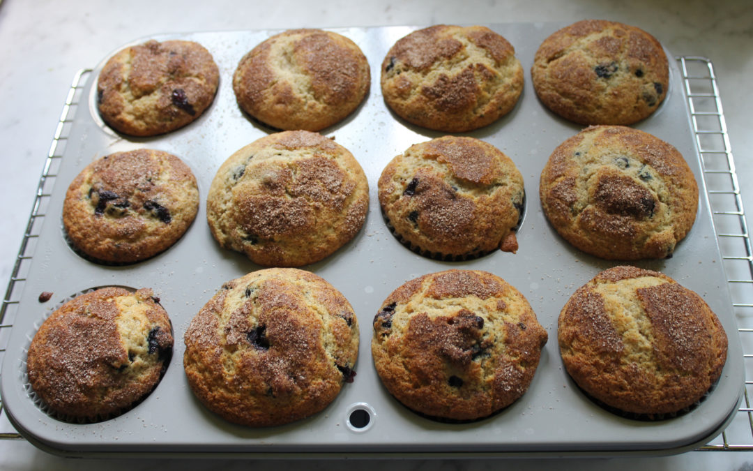 Blueberry Muffins with Surprises