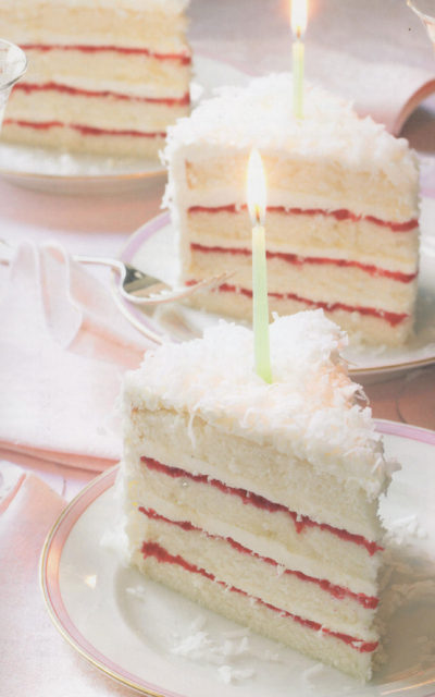 Perfect Party Cake [Vanilla and Lemon] from Dorie Greenspan
