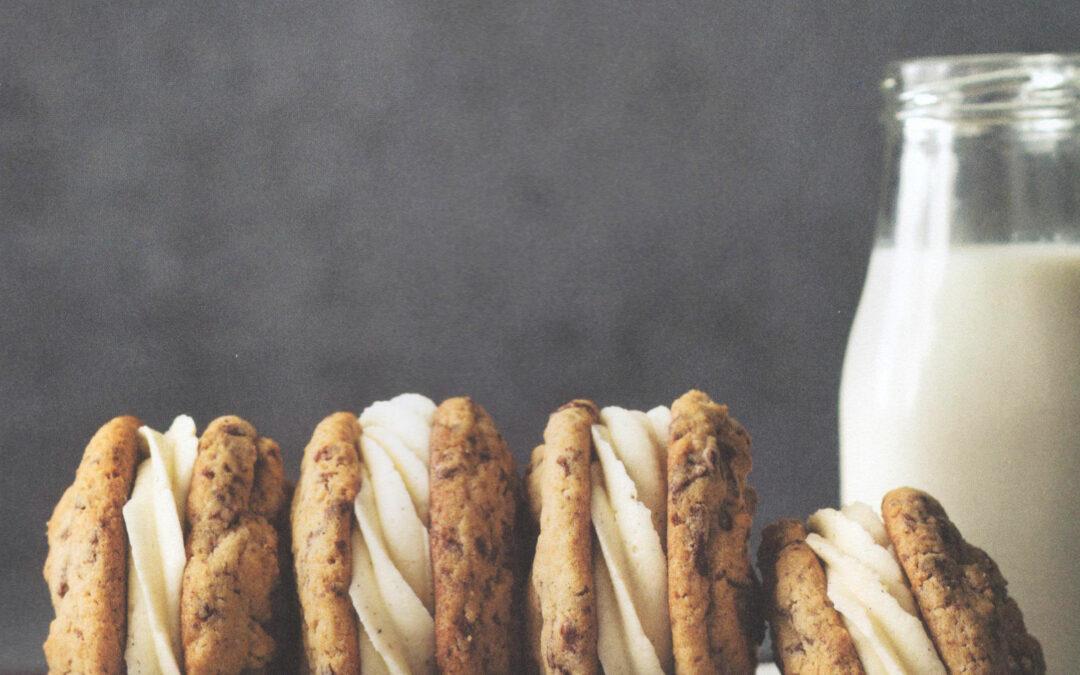 Chocolate Chip Graham Sandwich Cookies