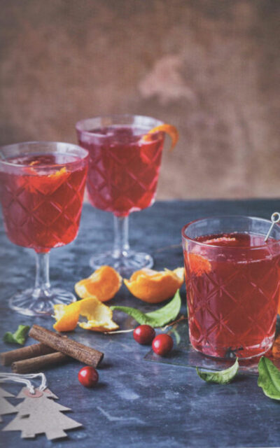 Christmas Cranberry Cordial from How to Drink Without Drinking