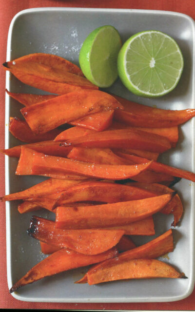 TBT Recipe Honey and Chipotle Glazed Sweet Potato Spears