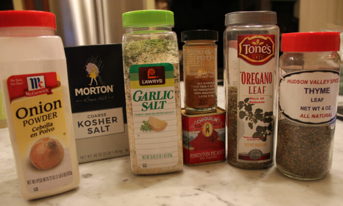 Homemade Cajun Spice Mix [out of necessity!]