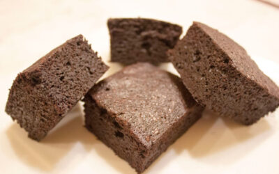 Dark Victory Brownies: Sour Cream and Dark Cocoa