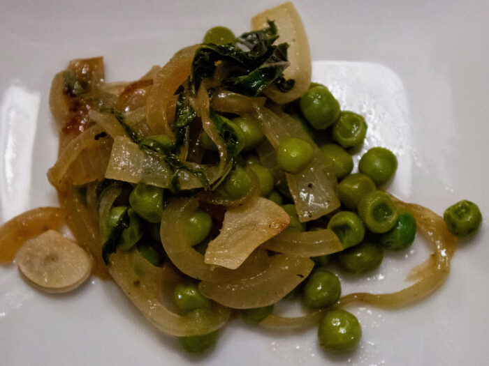 Lemony Green Peas from Southern Baked