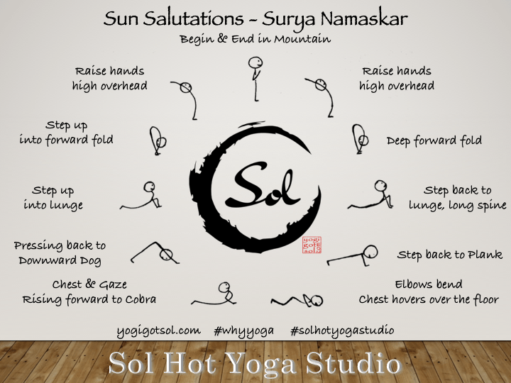 Sun Salutations with Sol Hot Yoga Studio