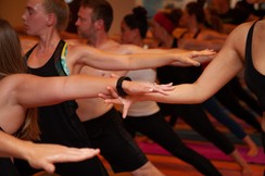 © Sol Hot Yoga Studio_Warrior2 Guiding Hand