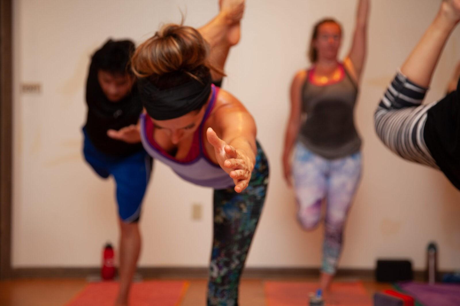 © Sol Hot Yoga Studio_Standing Bow